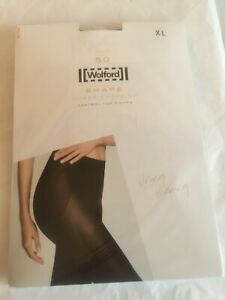 Wolford Shape Power 50 control top in XLarge Black UK 16-18 perfect condition