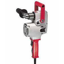 "NEW MILWAUKEE 1670-1 ""HOLE HAWG"" ELECTRIC 1/2"" HEAVY DUTY 900 RPM DRILL 7.5A"