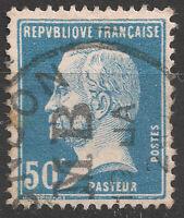 Pasteur N° 177, oblitéré M B, Boite mobile de Southampton