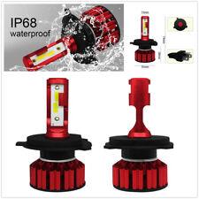 2X H4 HB2 9003 LED Headlight 100W 12000LM 6000K Kit Bulb Super Bright Hi/Lo Beam
