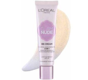 L'Oreal Paris Glam Nude BB Creme 5in1 - Licht Zu M