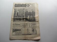 THE BEATLES Mersey BEAT ORIGINALE musica carta AGOSTO 29 SETTEMBRE 12, 1963