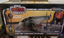 """Star Wars The Vintage Collection BOBA FETT's SLAVE 1 In Stock 3 3/4"""" Scale"""