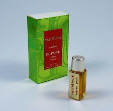 CARVEN Variations 5ml Perfume NUEVO / emb.orig. RAREZA VINTAGE