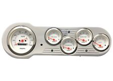 1953 1954 Chevy Car Dash Panel Instrument cluster Set White