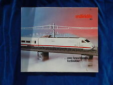 MARKLIN - TRAIN - CATALOGUE / Catalog - VINTAGE - 1985/86F - TOP !