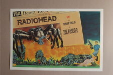Radiohead Concert Tour Poster1997 San Fran The Warfield