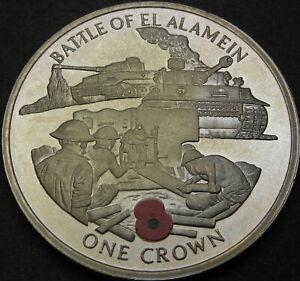 GIBRALTAR 1 Crown 2004 Proof - Battle of El Alamein - 3857 ¤