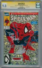 SPIDER-MAN #1 1990 CGC 9.8 SIGNATURE SERIES SIGNED STAN LEE & TODD MCFARLANE