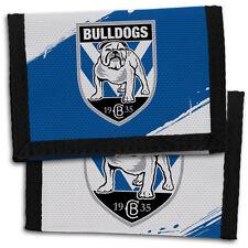 Official NRL Canterbury Bulldogs Team Logo Sports Wallet