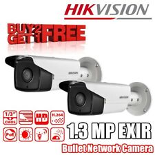 Hikvision DS-2CD2T12-I8 (4mm) 1.3MP EXIR Bullet Camera