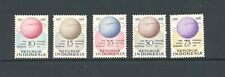 Indonesia 1958 SG 785-9 Space IGY MNH