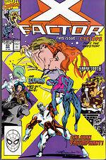 X-FACTOR #53 1990 MARVEL ICEMAN-CYCLOPS-CALIBAN-SABRETOOTH ..NM-