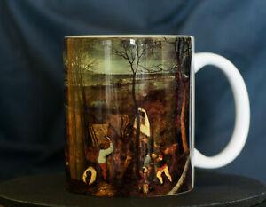 The Gloomy Day (Early Spring) - Bruegel Art Mug