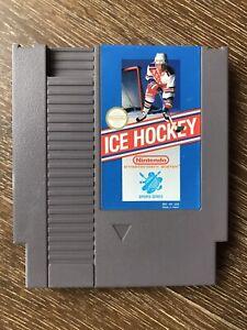 Ice Hockey - Nintendo Entertainment System NES - Tested / Working