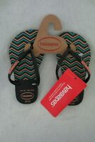 Havaianas Girl ZigZag Rubber Sandals Flip-Flops Size 11 Toddler New