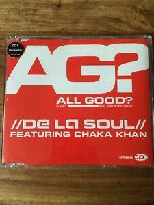 De La Soul feat. Chaka Khan - All Good? (3-Track CD Single, 2000)