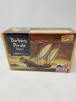 Lindberg Barbary Pirate Ship - Plastic Model Sailing Ship Kit - 1/250 Scale