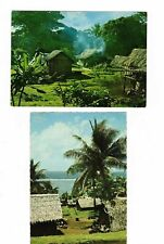 NEW HEBRIDES Group of Postcards            ( 4 cards)