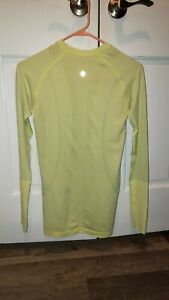 LULULEMON LONG SLEEVE TOP SIZE 6 EXCELLENT