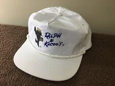 Ralph & Kacoo's Louisiana Seafood Restaurant White Snap Back Hat