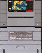 StarFox FX (Original Release) - SNES Super Nintendo - Tested - Cartridge Only