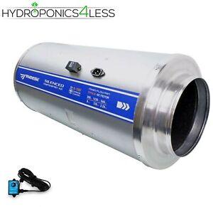 """Phresh Stealth 6"""" 8"""" 10"""" 12"""" inch Hydroponic Hyper Fan Speed Controller V2"""
