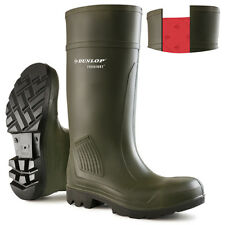 Dunlop Safety Wellingtons Welly BOOTS Steel Toe Cap Purofort S5 Size 39 34752