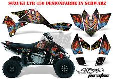 Amr racing décor Graphic Kit ATV suzuki ltr 450 Lt-r Ed-Hardy pirates B