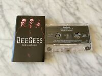 Bee Gees One Night Only CASSETTE Tape 1998 Polydor Night Fever, Staying Alive