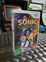 Sonic And The Secret Rings - Nintendo Wii Game - Free AUS Post