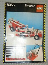 Lego ® Technic de recette 8055 Universal Set instruction Ba perforées