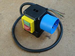 Schalter - Stecker - Kombination SSK500 230V 3kW IP54 Unterspannungsauslöser
