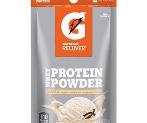 Gatorade Recover Whey Protein Powder Vanilla 20g