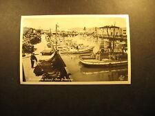 Fisherman's Wharf-San Francisco, real photo unused postcard
