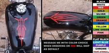 TANK & FENDER 2-PC PINSTRIPE DECAL SET,fits sportster dyna softail , ANY COLOR!