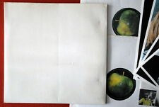BEATLES WHITE ALBUM NUMBERED W/POSTER+4 PICTURES ORIGINAL TOP OPENER GERMAN DBLP