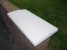 "18"" twice weathered concrete coping stones/wall coping/bricks/blocks/pier caps"