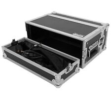 """4 Space 10"""" Deep Ata Rack Road Case for Effects / Wireless System / Guitar Units"""