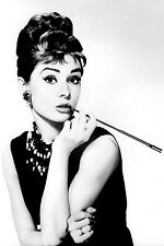 Audrey Hepburn Home Decor Canvas Print A4 size (210 x 297mm)