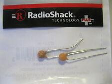 Pack of 64 - RadioShack 0.001uF 500V 20% Hi-Q Ceramic Disc Capacitor