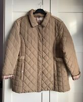 Beige quilted jacket/coat size 22 BNWT