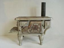 "Antique ~ Child's Toy Cast Iron Stove ~ ""LIBERTY"""