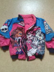 Veste fille Monster high 7 ans 8 ans