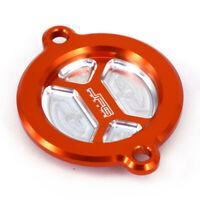 Orange Oil Filter Cover Cap For KTM SXF450 XCF450 EXC450 XCW500 390DUKE RC125