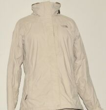 SUPERB NORTH FACE HYVENT DURABLE WOMEN'S HIKING JACKET SMALL CREAM