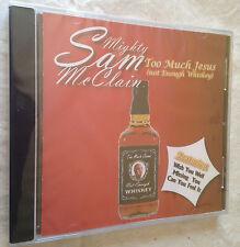 MIGHTY SAM McCLAIN CD TOO MUCH JESUS CBHCD 2023 BLUES