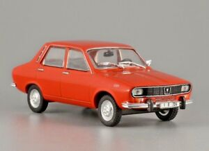 DACIA 1300 Romanian Small Family Red Car Saloon 1:43 Scale Diecast Model Car