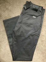 "ARMANI EXCHANGE GREY STRAIGHT FIT TROUSERS PANTS CHINOS 8NZJ16 - 30"" R  NEW TAGS"