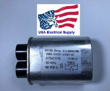 Microwave Oven H.V. High Voltage Capacitor Model: CH85-21075 2100VAC 0,75uF